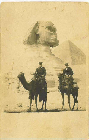 Reginal Aubrey Lewis in Egypt